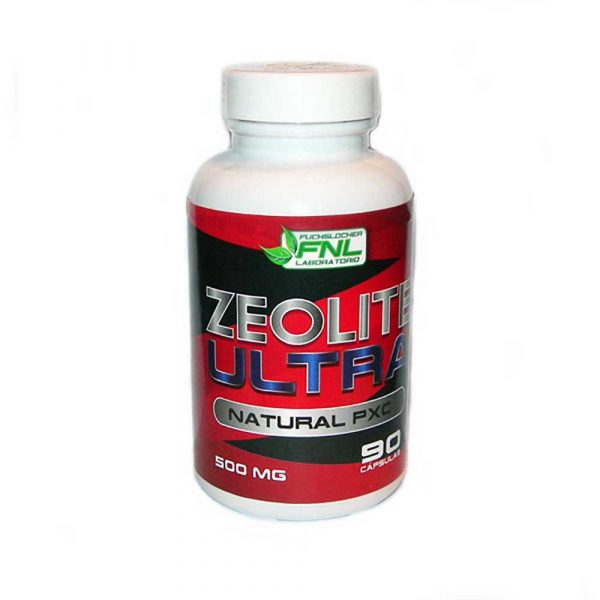 Zeolite Ultra 90 Caps 500 mg Detox [tag]