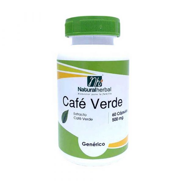 Café Verde 60 Caps 500 mg Green Coffee [tag]
