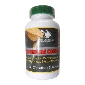 Espirulina Compuesta 90 Caps 500 mg Hercampuri