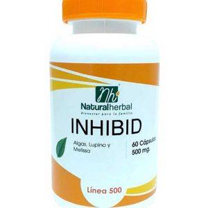 Inhibid 60 Caps 500 mg Bloqueador de Grasas