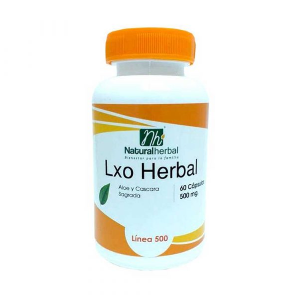 LXO Herbal 60 Caps 500 mg Detox
