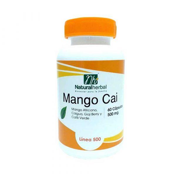 Mango Cai 60 Caps 500 mg Caigua