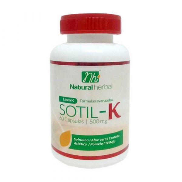 Sotil-K 60 Caps 500 mg Anticelulíticos