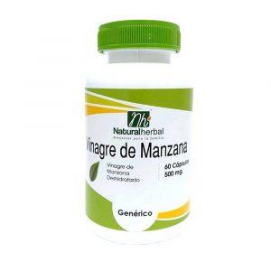 Vinagre de Manzana 60 Caps 500 mg Vinagre de Manzana