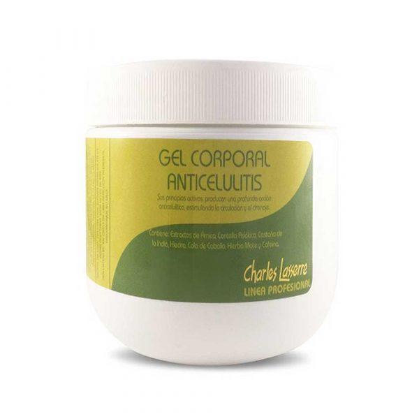 Gel Corporal Anticelulitis 500 gr Anticelulíticos